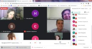 Онлайн захист бакалаврів на кафедрі ЕК