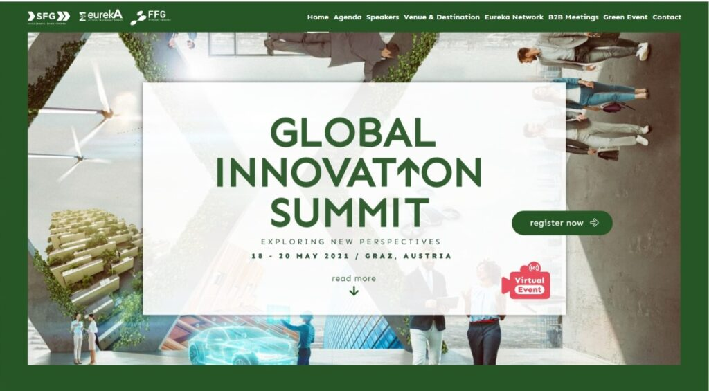 Для розвитку міжнародної співпраці рекомендуємо взяти участь у Global Innovation Summit 2021
